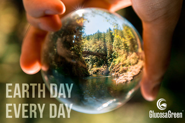With GlucosaGreen, every day is earth day.